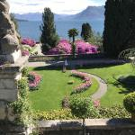 The amazing gardens on Isola Bella.