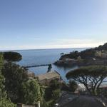 The magical vista from the Vis a Vis hotel in Sestri Levante.