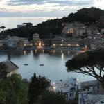 Evening on the Bay of Silence in Sestri Levante.