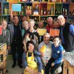 A wonderful time at Valenti Positano learning to make Limoncello.
