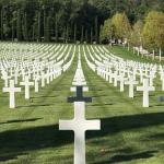 The American Military Cemetery.