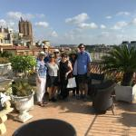 What a great group with a great view over Rome.
