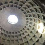 The amazing dome and oculus in the Pantheon.