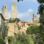 Some of the towers in San Gimignano.